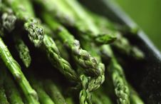 Free Asparagus Close-up Royalty Free Stock Photography - 5160437