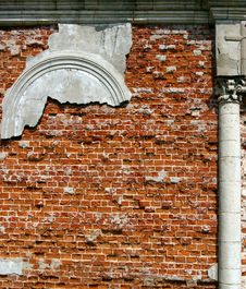Free Destroyed Church Stock Image - 5164791