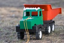 Free The Toy Lorry Royalty Free Stock Image - 5165076