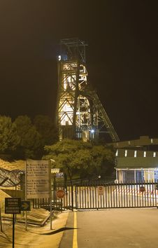No 5 Shaft East Driefontein Stock Image