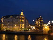 Free Quay Moskva River Stock Photography - 5165672