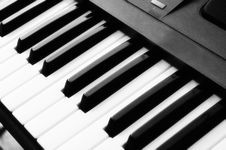 Free Electronic Piano Stock Image - 5165791