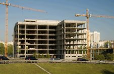 Free Construction The Building Royalty Free Stock Images - 5166139
