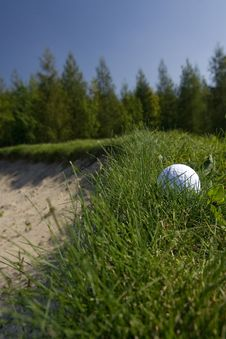 Golf Theme Royalty Free Stock Photo