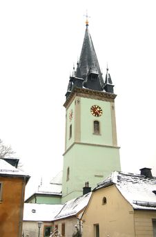 Free German Church Stock Photo - 5167280