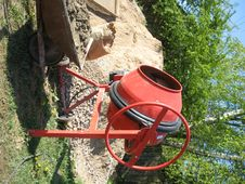Free Cement Mixer Stock Photography - 5167742