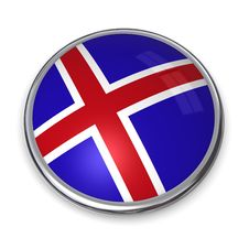 Banner Button Norway Royalty Free Stock Images