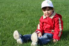 Free Little Girl In The Park Stock Photos - 5169453