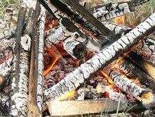 Free Fire Wood Stock Image - 5169461