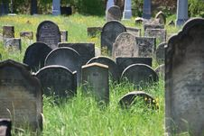 Free Old Jewish Cemetery In Holesov Royalty Free Stock Photography - 5169737
