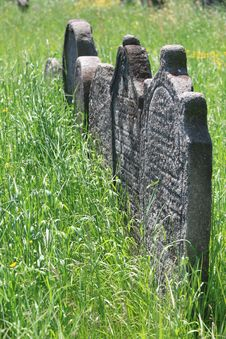 Free Old Jewish Cemetery In Holesov Stock Photo - 5169960