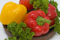 Free Red And Yellow Pepper. Stock Photos - 5173823