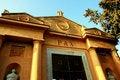 Free Pax, Cemetery Entrance Facade Royalty Free Stock Photo - 5178745