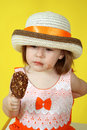Free Girl With Ice Cream Royalty Free Stock Photography - 5179847