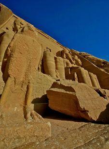 Free Abu Simbel Royalty Free Stock Image - 5170556