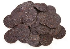 Free Organic Blue Corn And Sesame Tortilla Chips Royalty Free Stock Photos - 5170598
