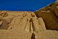 Free Abu Simbel Stock Image - 5170621