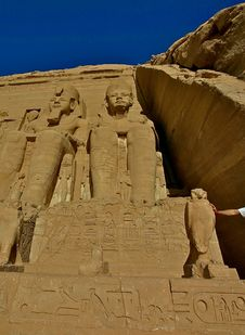 Free Abu Simbel Royalty Free Stock Image - 5170626