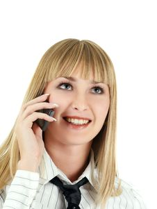 Free Speaking Phone Royalty Free Stock Photo - 5170735