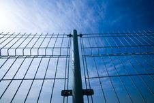 Free Wire Fence Stock Image - 5171491