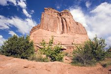 Free Landmark Of Arches National Park Stock Photography - 5172212