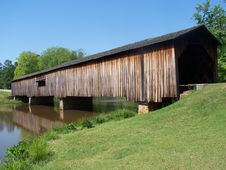 Free Covered Bridge Royalty Free Stock Images - 5172339