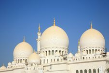 Free Grand Mosque Ahu Dhabi Stock Photos - 5173063