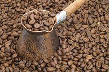 Free Turkish Coffee Pot. Royalty Free Stock Photo - 5173485