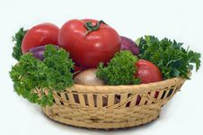 Free Fresh Vegetables. Royalty Free Stock Photos - 5173568