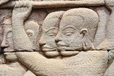Free Cambodia; Angkor; Bayon Temple Royalty Free Stock Photo - 5173825