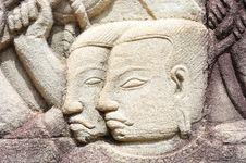 Free Cambodia; Angkor; Bayon Temple Stock Image - 5173941