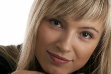 Free Close Up Glamor Girl Posing Stock Images - 5173984
