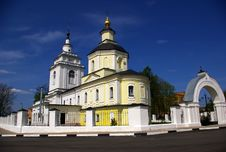 Free Temple In Ruza Stock Images - 5174084