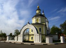 Free Temple In Ruza Stock Image - 5174131