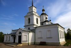 Free Church In Ruza Royalty Free Stock Image - 5174246