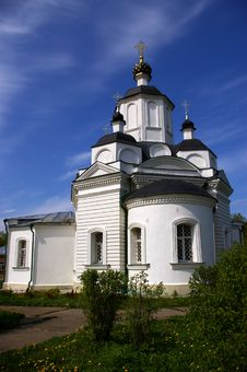 Free Church In Ruza Royalty Free Stock Photos - 5174248