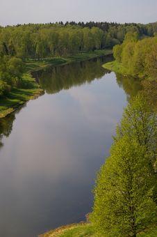 Free River Ruza Stock Image - 5174311
