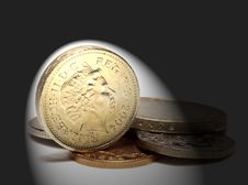 Free UK Coins Stock Photography - 5174312