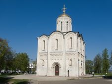 Free Dmitrievskiy Cathedral Royalty Free Stock Photography - 5174887
