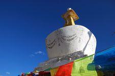 Tibet Buddhism Chorten Stock Images