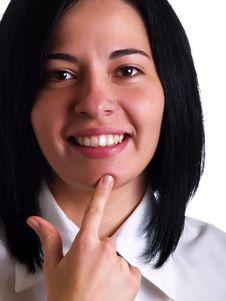Free Businesswoman S Good Idea Royalty Free Stock Photos - 5175148