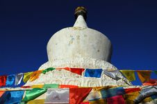 Free Tibet Buddhism Chorten Royalty Free Stock Photos - 5175388