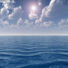 Free Sea Sky Stock Images - 5176084