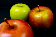 Free Red & Green Apples Stock Photos - 5176173