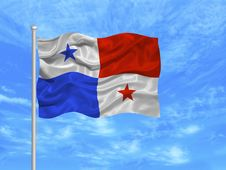 Free Panama Flag 1 Royalty Free Stock Photography - 5176307