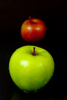 Free Red & Green Apples Stock Photo - 5176370