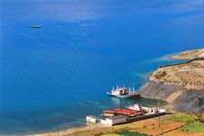 The Tibetan Saint Lake Stock Image