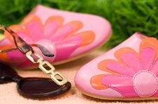 Free Summer Accessories Stock Image - 5176631