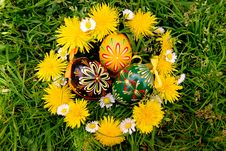 Free Easter Eggs Royalty Free Stock Image - 5176806