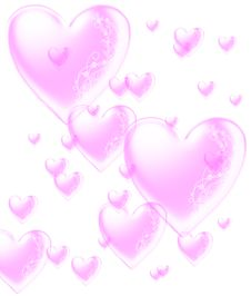 Free Pink Hearts Royalty Free Stock Photos - 5177008